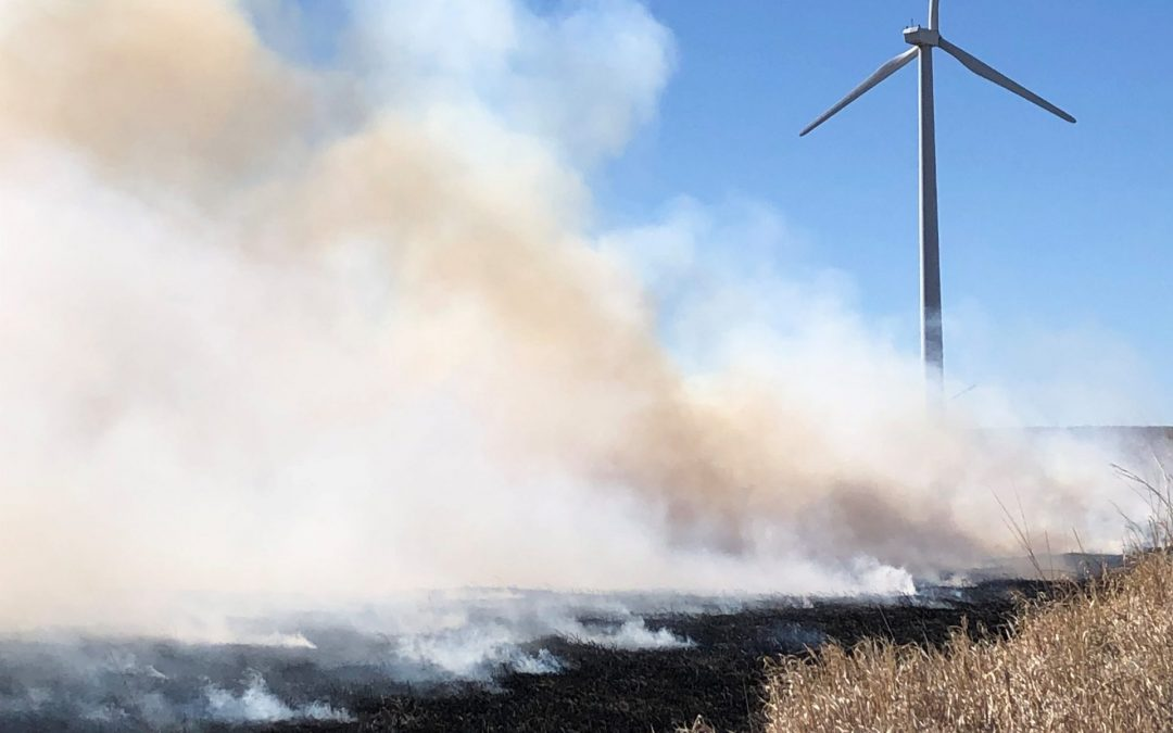 Wind Farms and Firefighting